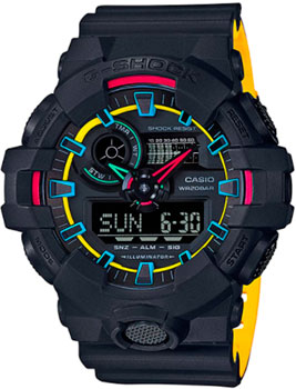 Casio Часы Casio GA-700SE-1A9. Коллекция G-Shock casio g shock ga 700se 1a9