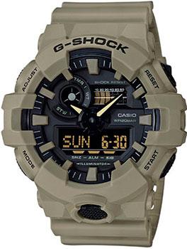 Casio Часы Casio GA-700UC-5A. Коллекция G-Shock casio ga 110br 5a