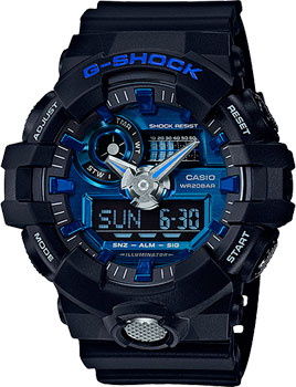 Casio Часы Casio GA-710-1A2. Коллекция G-Shock