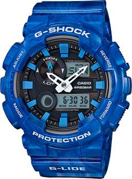 Casio Часы Casio GAX-100MA-2A. Коллекция G-Shock casio часы casio gax 100ma 2a коллекция g shock