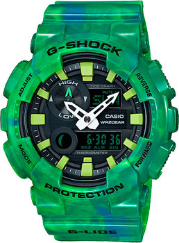 Casio Часы Casio GAX-100MB-3A. Коллекция G-Shock цена и фото
