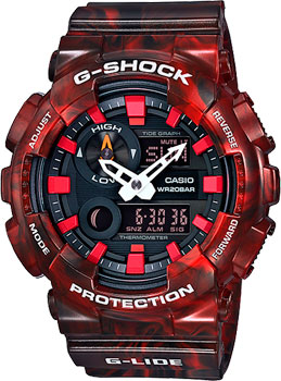 Casio Часы Casio GAX-100MB-4A. Коллекция G-Shock цена и фото