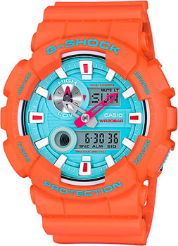 Casio Часы Casio GAX-100X-4A. Коллекция G-Shock casio gax 100x 4a