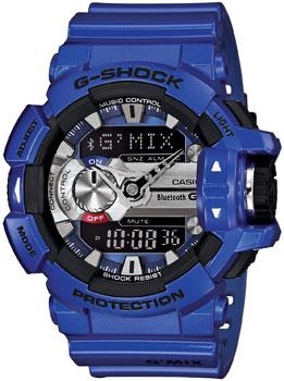Casio Часы Casio GBA-400-2A. Коллекция G-Shock casio часы casio wva m650d 2a коллекция wave ceptor