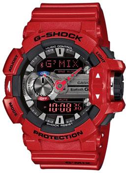 Casio Часы Casio GBA-400-4A. Коллекция G-Shock casio часы casio gba 400 1a9 коллекция g shock