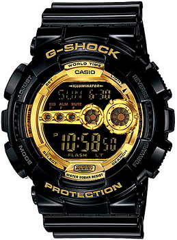 Casio Часы Casio GD-100GB-1E. Коллекция G-Shock casio prw 6000y 1e