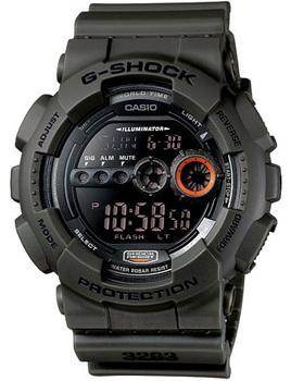 Casio Часы Casio GD-100MS-3E. Коллекция G-Shock часы наручные casio часы g shock gd 120cm 8e