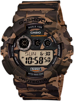 Casio Часы Casio GD-120CM-5E. Коллекция G-Shock casio prg 600yl 5e