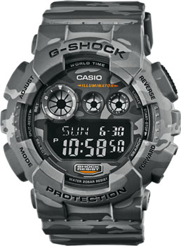 Casio Часы Casio GD-120CM-8E. Коллекция G-Shock casio bg 6900sg 8e casio