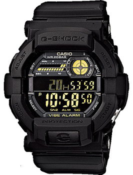 Casio Часы Casio GD-350-1B. Коллекция G-Shock casio gd 100 1b