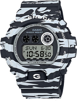 Casio Часы Casio GD-X6900BW-1E. Коллекция G-Shock casio prw 6000y 1e