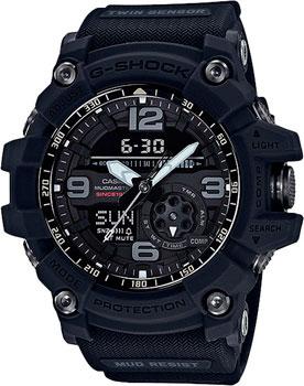 Casio Часы Casio GG-1035A-1A. Коллекция G-Shock casio g shock g classic ga 110mb 1a