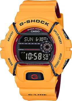 Casio Часы Casio GLS-6900-9E. Коллекция G-Shock  casio gls 6900 1e