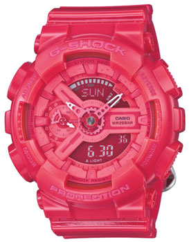 Casio Часы Casio GMA-S110CC-4A. Коллекция G-Shock часы женские casio g shock gma s110mp 4a3 pink