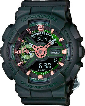 Casio Часы Casio GMA-S110CM-3A. Коллекция G-Shock casio часы casio gma s110mc 6a коллекция g shock