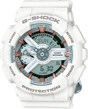 Casio Часы Casio GMA-S110CM-7A2. Коллекция G-Shock casio часы casio gma s110mc 6a коллекция g shock