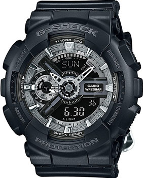 Casio Часы Casio GMA-S110F-1A. Коллекция G-Shock кварцевые часы casio g shock g shock ga 100by 1a
