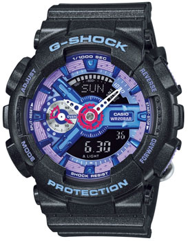 Casio Часы Casio GMA-S110HC-1A. Коллекция G-Shock часы женские casio g shock gma s110mp 4a3 pink