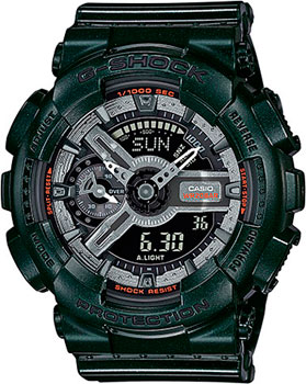 Casio Часы Casio GMA-S110MC-3A. Коллекция G-Shock часы женские casio g shock gma s110mp 4a3 pink