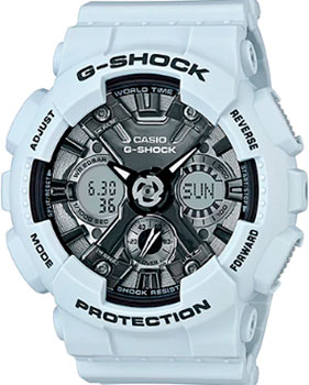 Casio Часы Casio GMA-S120MF-2A. Коллекция G-Shock casio часы casio gma s110mc 6a коллекция g shock