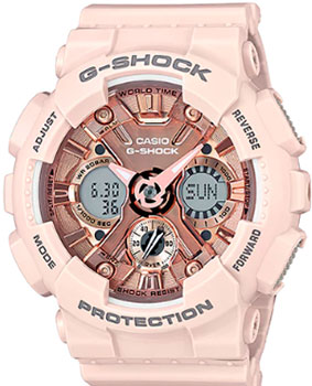 Casio Часы Casio GMA-S120MF-4A. Коллекция G-Shock casio часы casio gma s110mc 6a коллекция g shock