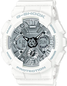 Casio Часы Casio GMA-S120MF-7A1. Коллекция G-Shock casio часы casio gma s110mc 6a коллекция g shock