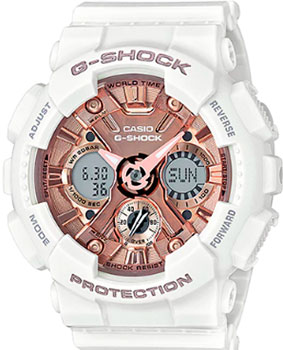 Casio Часы Casio GMA-S120MF-7A2. Коллекция G-Shock casio часы casio gma s110mc 6a коллекция g shock