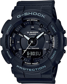 Casio Часы Casio GMA-S130-1A. Коллекция G-Shock часы женские casio g shock gma s110mp 4a3 pink