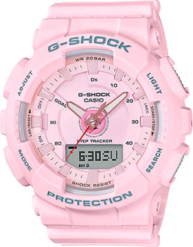 Casio Часы Casio GMA-S130-4A. Коллекция G-Shock casio часы casio gma s110mc 6a коллекция g shock