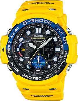 Casio Часы Casio GN-1000-9A. Коллекция G-Shock casio gn 1000 9a