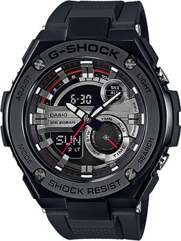 Casio Часы Casio GST-210B-1A. Коллекция G-Shock casio g shock gst w130l 1a