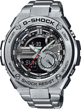 Casio Часы Casio GST-210D-1A. Коллекция G-Shock casio часы casio gst 210d 1a коллекция g shock