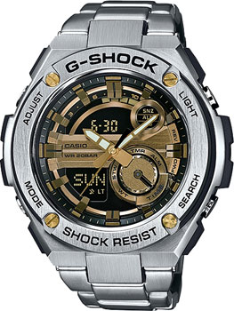 Casio Часы Casio GST-210D-9A. Коллекция G-Shock casio g shock gst w110d 2a
