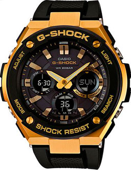 Casio Часы Casio GST-S100G-1A. Коллекция G-Shock casio g shock g classic ga 110mb 1a