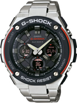 цена  Casio Часы Casio GST-W100D-1A4. Коллекция G-Shock  онлайн в 2017 году