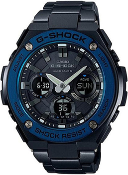 Casio Часы Casio GST-W110BD-1A2. Коллекция G-Shock casio g shock gst w110d 2a