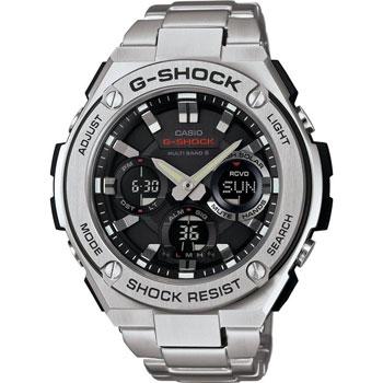 Casio Часы Casio GST-W110D-1A. Коллекция G-Shock casio часы casio wva m650d 2a коллекция wave ceptor