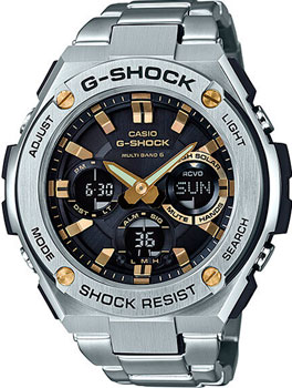 Casio Часы Casio GST-W110D-1A9. Коллекция G-Shock цена и фото