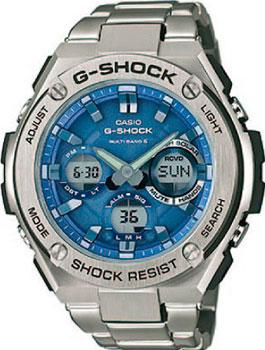 Casio Часы Casio GST-W110D-2A. Коллекция G-Shock жилет orby orby or012ebubx61