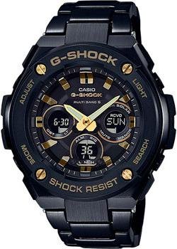 Casio Часы Casio GST-W300BD-1A. Коллекция G-Shock casio g shock g classic ga 110mb 1a
