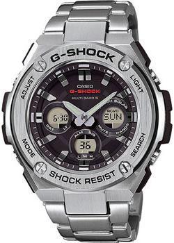 Casio Часы Casio GST-W310D-1A. Коллекция G-Shock casio g shock g classic ga 110mb 1a