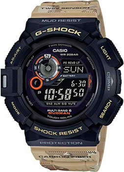 Casio Часы Casio GW-9300DC-1E. Коллекция G-Shock casio часы casio gw 9300cm 1e коллекция g shock