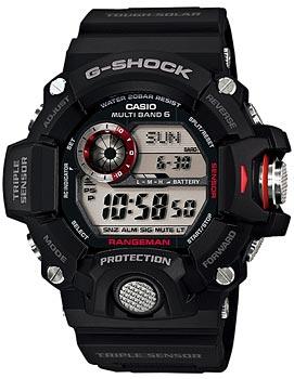 Casio Часы Casio GW-9400-1E. Коллекция G-Shock электронные часы casio g shock premium 67365 gw 9400dcj 1e