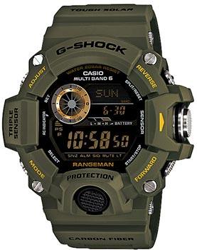 Casio Часы Casio GW-9400-3E. Коллекция G-Shock мужские часы casio gw 9400 1e
