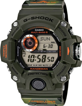 Casio Часы Casio GW-9400CMJ-3E. Коллекция G-Shock мужские часы casio gw 9400 1e