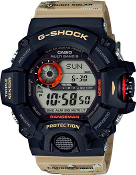 Casio Часы Casio GW-9400DCJ-1E. Коллекция G-Shock casio часы casio gw 9300cm 1e коллекция g shock