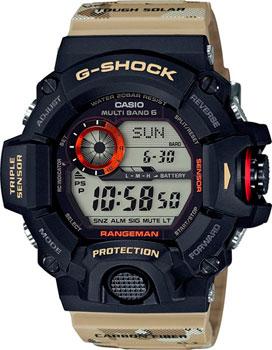 Casio Часы Casio GW-9400DCJ-1E. Коллекция G-Shock электронные часы casio g shock premium 67365 gw 9400dcj 1e