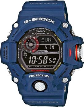 Casio Часы Casio GW-9400NV-2E. Коллекция G-Shock мужские часы casio gw 9400 1e