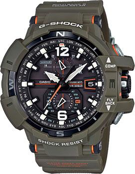 Casio Часы Casio GW-A1100KH-3A. Коллекция G-Shock мужские часы casio gw a1100kh 3a