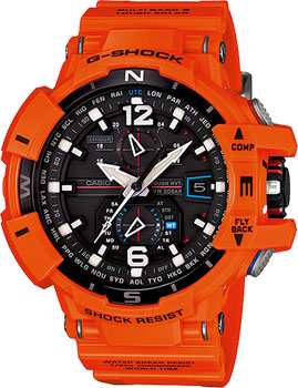 Casio Часы Casio GW-A1100R-4A. Коллекция G-Shock casio часы casio gw 9300cm 1e коллекция g shock